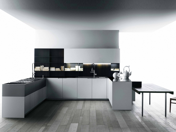 boffi lyon kitchen laminate wood veneer island berlanda boffi boffi best boffi interiors. Black Bedroom Furniture Sets. Home Design Ideas